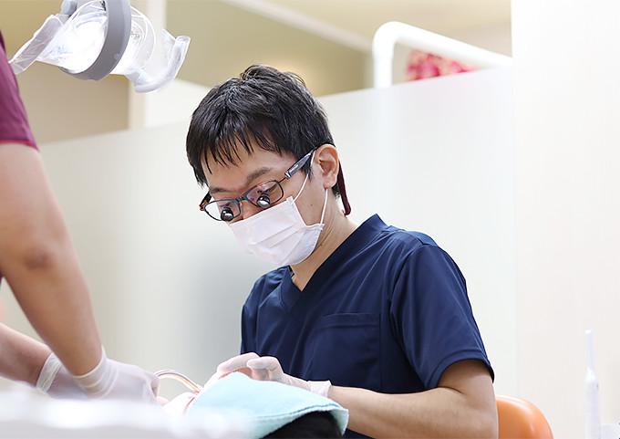 歯科治療中