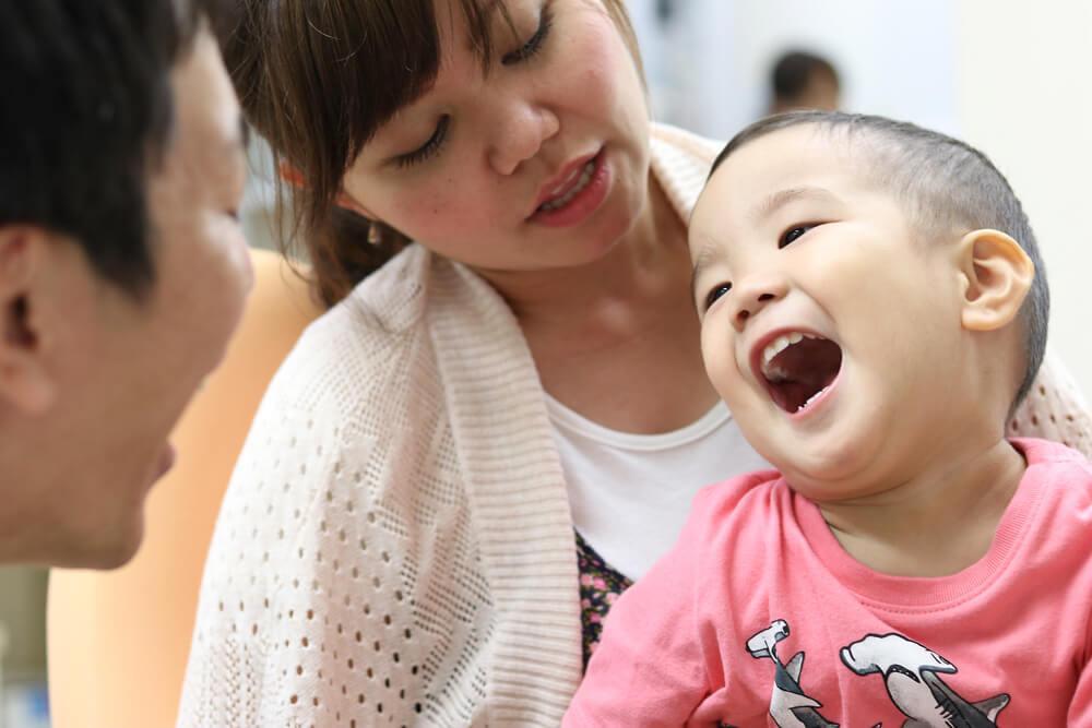 親子で歯科治療