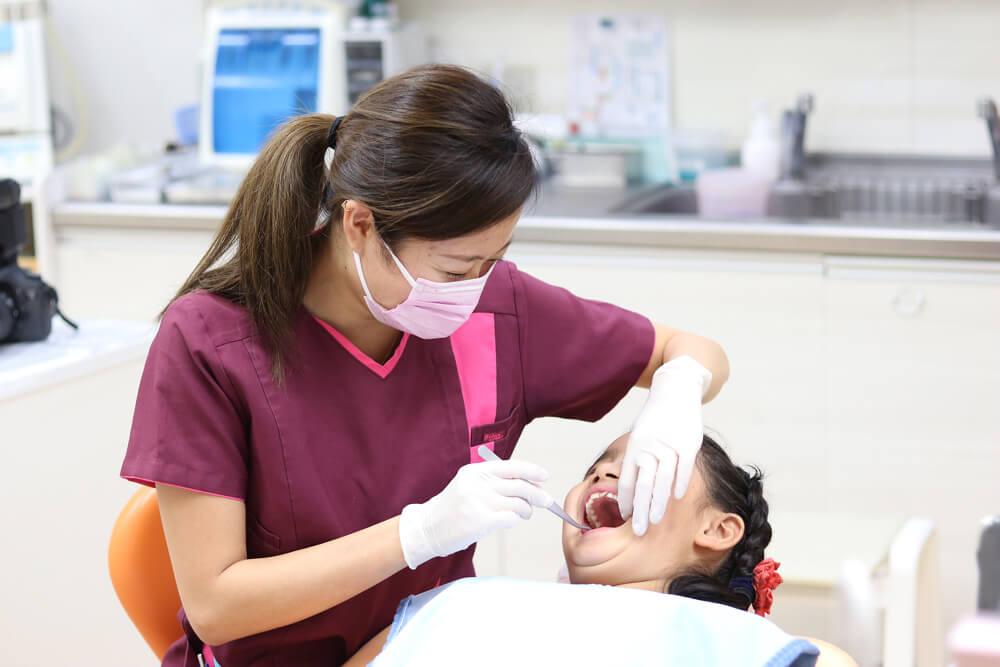子どもの歯のメンテナンス